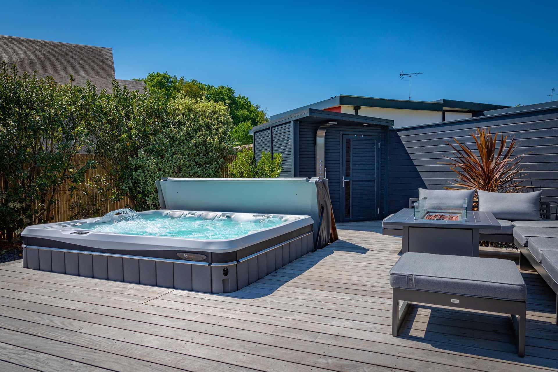 Installation spa Vannes Lorient Morbihan